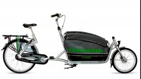 Gazelle Cabby cargobike with 7 gears 2