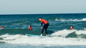 Surfing at Surfvillage 1