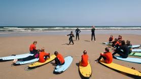 Surfing at Surfvillage 2