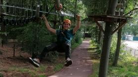 Rollercoaster Zipline 1