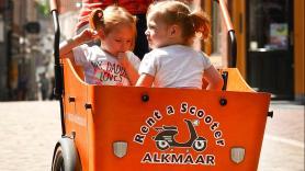 Child seat cargo e-bike 1