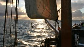 Sailing to Vlieland with the Eilandhopper 5