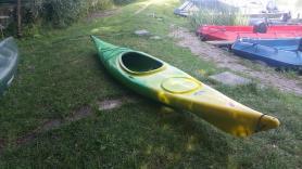 Kayaking, single seat kajak 1