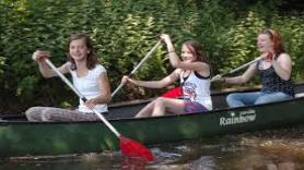 Canoeing, 3 person Canadian canoe 1