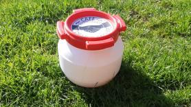 Waterdichte ton 3.6 Liter 1