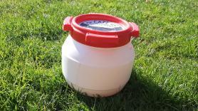 Waterdichte ton 3.6 Liter 3