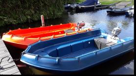 Huur roeiboot met buitenboordmotor 1