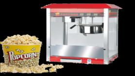 Funfood: Popcorn machine - 25 porties inclusief 1