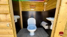 Toiletwagen 'Toilet Chalet' Huren 2