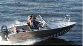 Tuna 460dc vis- en recreatieboot (incl. Fishfinder en dieptemeter) 4-5 pers.  1