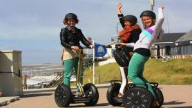Rent a Segway, starting from 2 persons minimum. 1