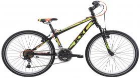 Kinder mountainbike 24 inch  velgrem 3x 6 versnellingen huren 1