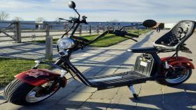 E-scooter huren met kinderzit 1