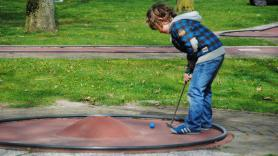 Minigolf reservation, for now only on saturdays & Sundays 1