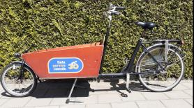 Cargobike with 2 wheels 1