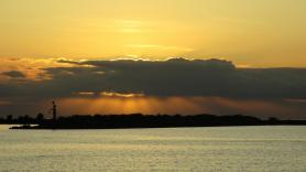 Marker Wadden Sunset 3