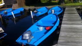 Steel motorboat 1