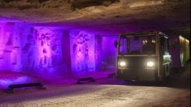 Visit the caves by train 4