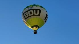 Luchtballonvaart zonsondergang (avond) 1