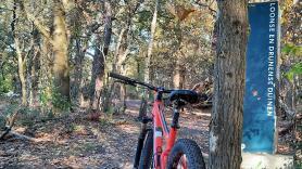 Mountainbike maat XS - Lengte 1.40 - 1.53 m 1