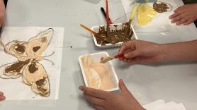 Schilderen met chocolade vanaf 7 jaar 1