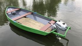 Motorboot huren ( 4 pers) 2