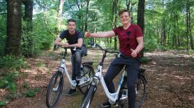 7-versnellingen Unisex fiets inc. entree Park Hoge Veluwe 3