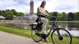 Elektrische fiets huren inc. entree Park Hoge Veluwe 1