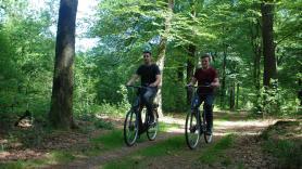 Elektrische fiets huren inc. entree Park Hoge Veluwe 2