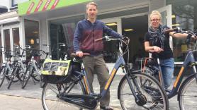 Elektrische fiets huren inc. entree Park Hoge Veluwe 3