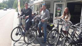 Elektrische fiets huren inc. entree Park Hoge Veluwe 4