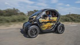 Dune & Beach GPS audio tour / 120 minutes / 1 Renault Twizy, suitable for 2 people 1