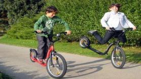 Toertocht Kickbike Freeride 2