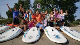 Groepslessen windsurfen 3