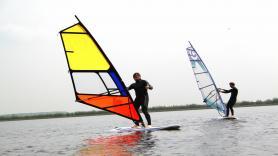 Weekcursus windsurfen 3