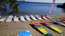 Verhuur beginners set windsurfen 1