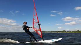 Verhuur beginners set windsurfen 2