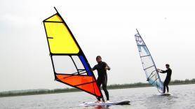 Verhuur beginners set windsurfen 3