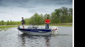 Luxe Smokercraft (incl. hengels, fishfinder en elektromotor) 9,9pk | 4 pers. (max 400kg) 1